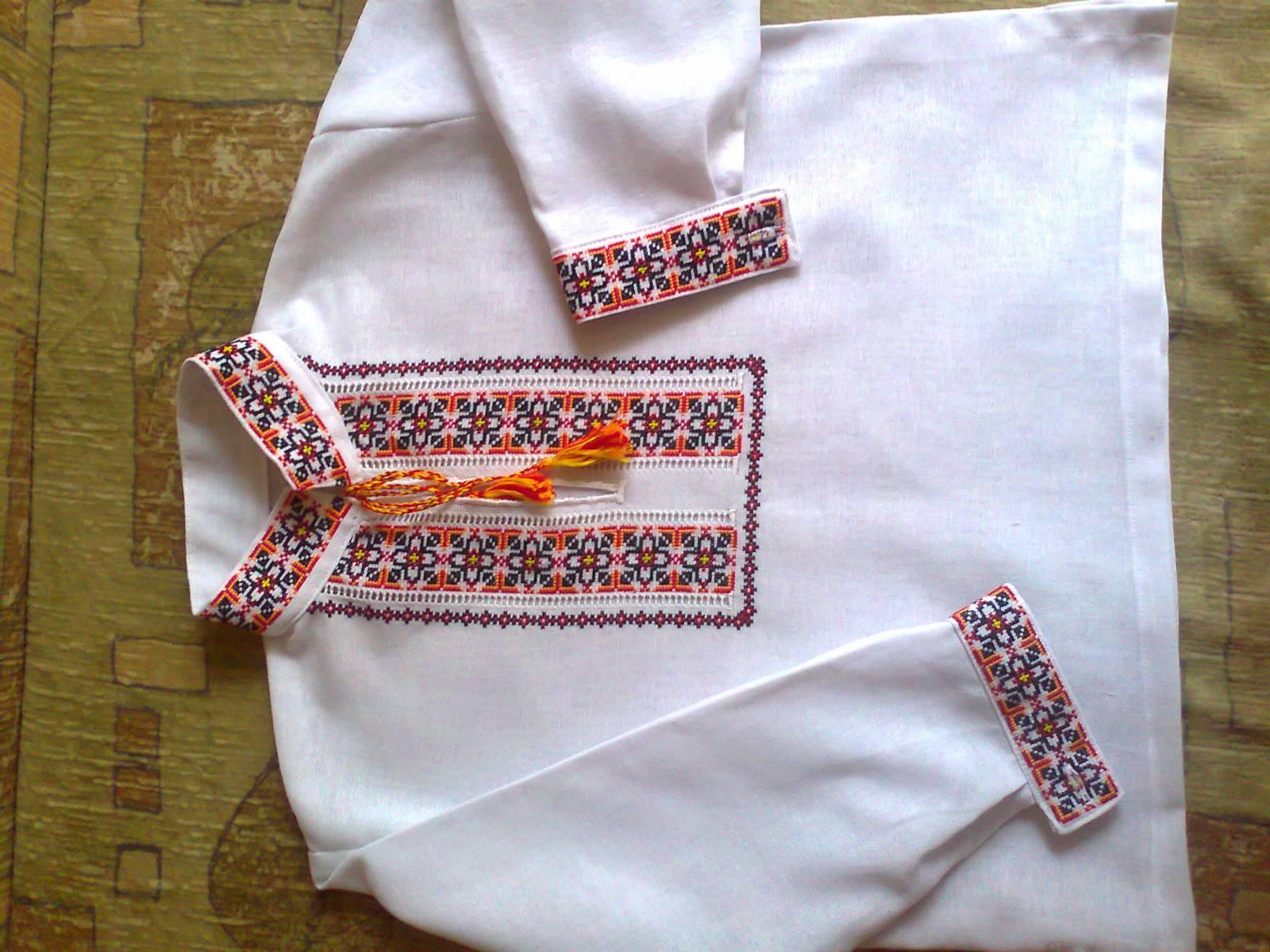 Сшить вышиванка своими руками